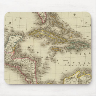 West Indies Central America Mouse Mat