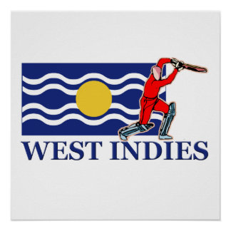 West Indies Cricket Player Poster