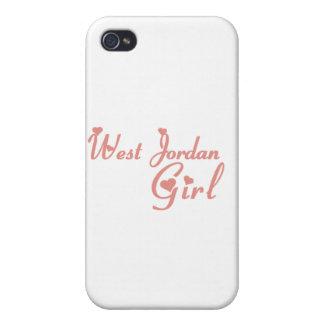 West Jordan Girl tee shirts iPhone 4 Cases