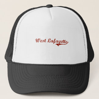 West Lafayette Indiana Classic Design Trucker Hat