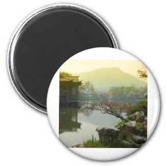 west lake, China 6 Cm Round Magnet