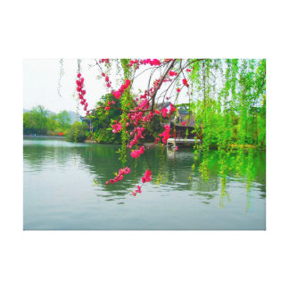 West Lake in Hangzhou, China Stretched Canvas Prin Canvas Print