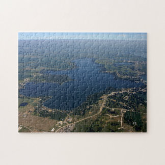 West Lake Okoboji Iowa aerial view puzzle
