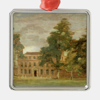 West Lodge, East Bergholt (oil on paper laid on pa Christmas Ornament