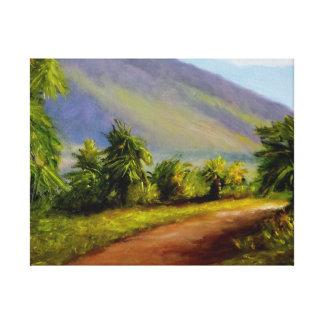 West Maui Mountains Canvas Print