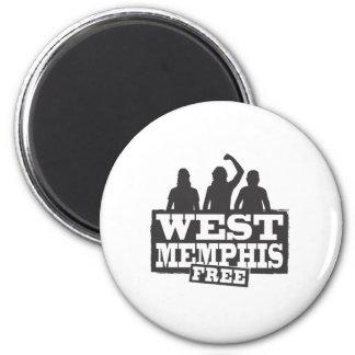 West Memphis Three 6 Cm Round Magnet
