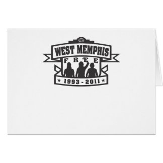 West Memphis Three Cards