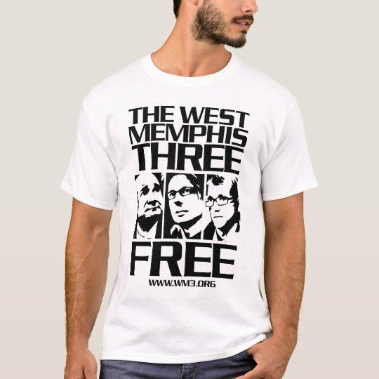 West Memphis Three. Free. Light T-Shirt
