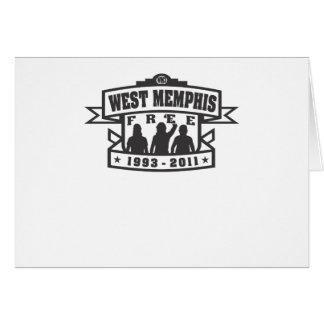 West Memphis Three Greeting Card