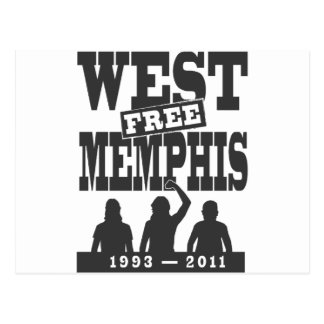 West Memphis Three Postcard