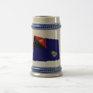 West New Britain Province Waving Flag Mugs