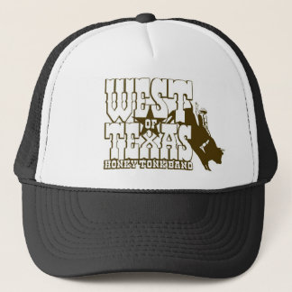 West of Texas Bull Rider Trucker Hat