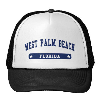 West Palm Beach Florida College Style tee shirts Hat