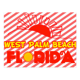 West Palm Beach, Florida Postcard