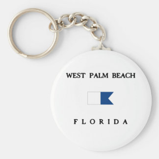 West Palm Beach Key Ring
