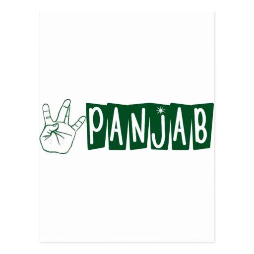West Panjab Post Cards