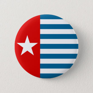 west papua 6 cm round badge