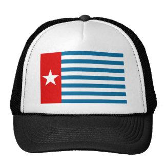 west papua mesh hat