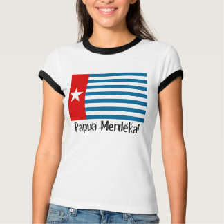West Papua Merdeka! Morning Star Flag T-Shirt