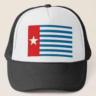 west papua trucker hat