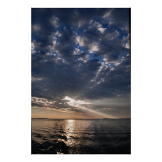 West Penobscot Bay sunrise poster - 1