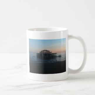 West Pier Brighton Basic White Mug