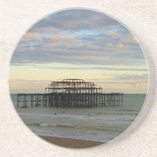 West Pier Brighton Beverage Coaster