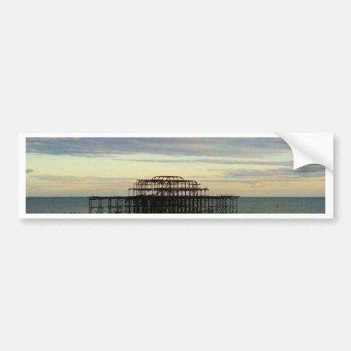 West Pier Brighton Bumper Sticker