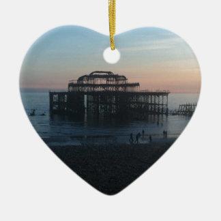 West Pier Brighton Christmas Ornament