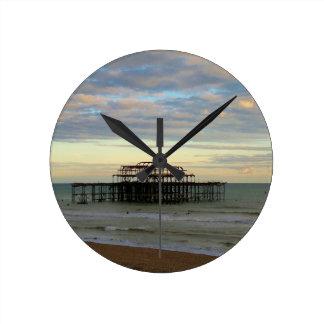 West Pier Brighton Clocks