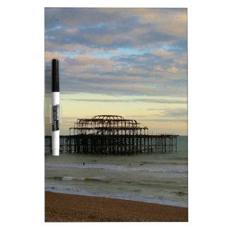 West Pier Brighton Dry-Erase Whiteboard