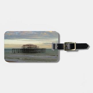 West Pier Brighton Tag For Luggage