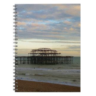 West Pier Brighton Spiral Note Books