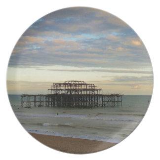 West Pier Brighton Plate
