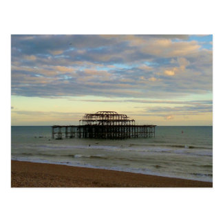 West Pier Brighton Postcard