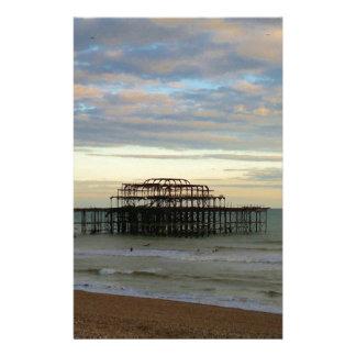 West Pier Brighton Custom Stationery