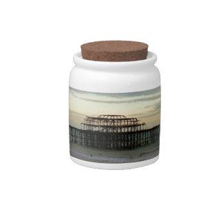 West Pier Brighton Candy Jars