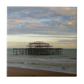 West Pier Brighton Ceramic Tile