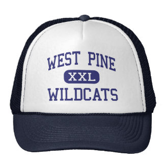West Pine Wildcats Middle West End Hat