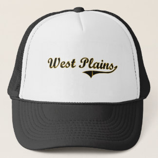 West Plains Missouri Classic Design Trucker Hat