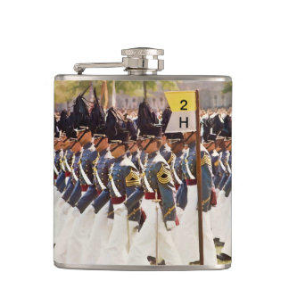 West Point Cadets Customizable Text Hip Flask