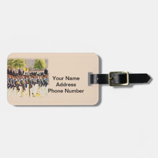 West Point Cadets Customizable Text Luggage Tag