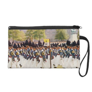 West Point Cadets Customizable Text Wristlet Purse