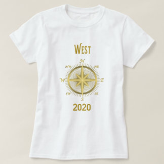 West President 2020 compass Tshirt