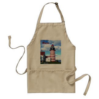 West Quoddy Head Lighthouse Standard Apron