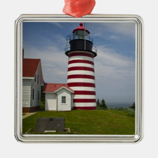West Quoddy Head Lighthouse State Park is the Christmas Ornament