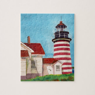 West Quoddy Light House Puzzle