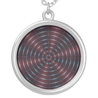 West Quoddy Light Kaleidoscope Silver Plated Necklace
