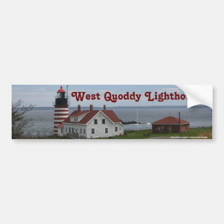 West Quoddy Lighthouse Bumper Stickers