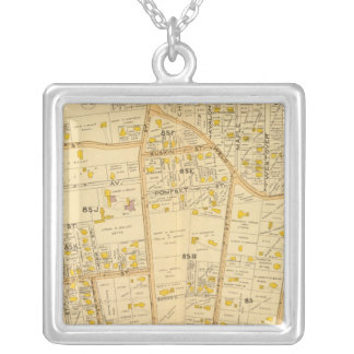 West Roxbury, Massachusetts 2 Silver Plated Necklace